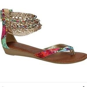 Rebel by Zigi Chain Sandals